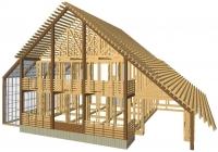 Каркасные дома. Современные технологии строительства