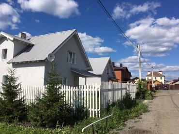 Дом в тихом месте большого города - Екатеринбурга